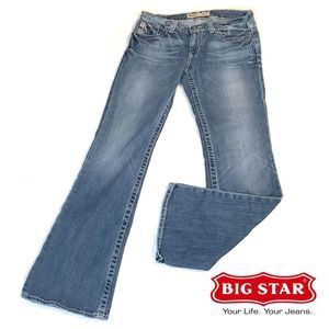 Big Star Casey K Low-Rise Fit Boot Cut Sz 30